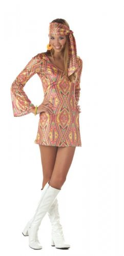 70's Disco Dolly 70's Teen Costume Size: Jr (3-5) #05005