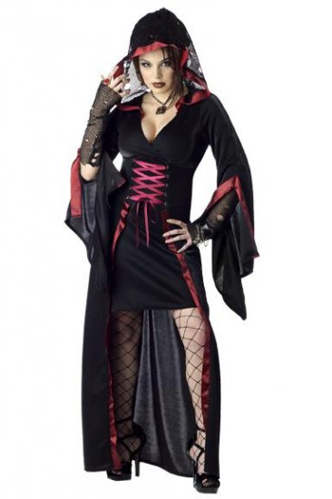 Gothic Midnight Ritual Adult Costume Size: Small #00764