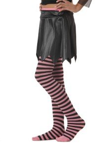 Black and Pink Striped -Bootique Tights Legging