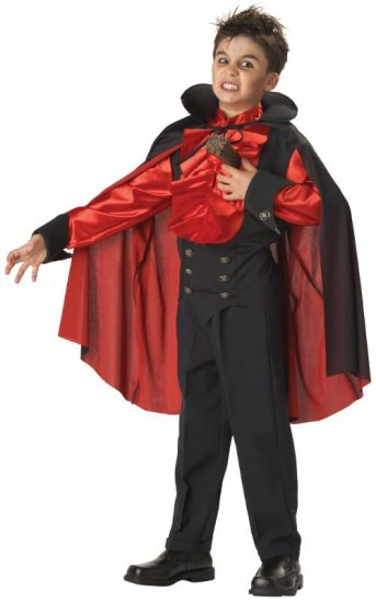 Dracula Staked Vampire Child Costume Size: Large #00311