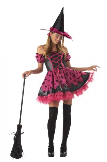 Pretty Potion Witch Teen Costume Size: Jr (3-5) #05015