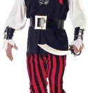 Cutthroat Pirate Adult Costume Size: Medium #01318