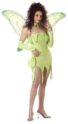 Emerald Fairy Pixie Adult Costume Size: Small #01085