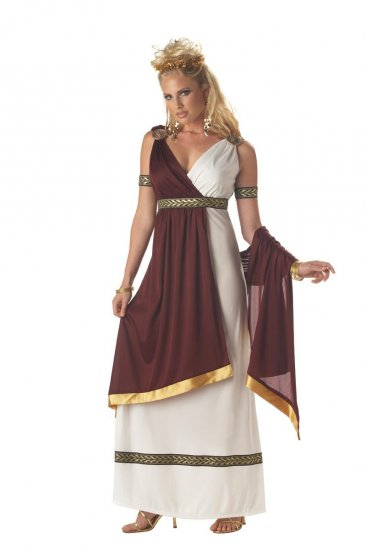 Greek Roman Empress 300 Adult Costume Size: Small # 01069