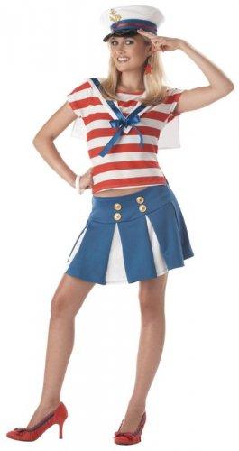 Cruise Ship Cutie Sailor Teen Costume Size: Jr (3-5) #05032