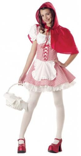 Miss Red Riding Hood Teen Costume Size: Jr (3-5)