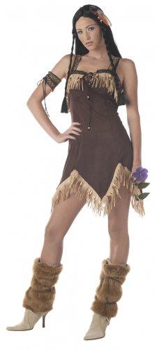 Sexy Indian Princess Thanksgiving Pocahontas Adult Costume Size: Medium #00940