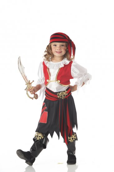 Penny the Pirate Toddler Costume Size: Medium #00052