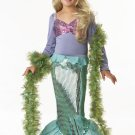 Ariel Little Mermaid Child Costume Size:  Large #00246