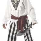 Pirate Barnacle Bones Child Costume Size: Large