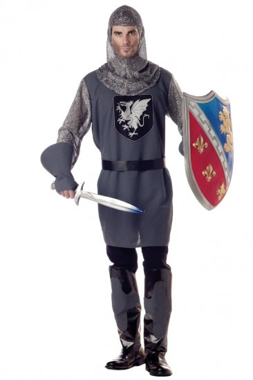 Valiant Knight Medieval Renaissance Adult Costume Size: X-Large #01153