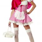 Red Riding Hood Adult Costume Size: Large #01097
