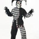 Joker Circus Clown Evil Jester Child Costume Size: Small #00217