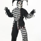 Evil Jester Joker Child Costume Size: Large #00217
