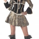 Pirate Captain D&#39; Elegance Adult Costume Size: Large