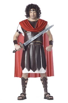 Roman Hercules Spartan Warrior Plus Size Adult Costume #01621