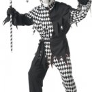 Evil Jester Clown Adult Costume Size: Large #00928