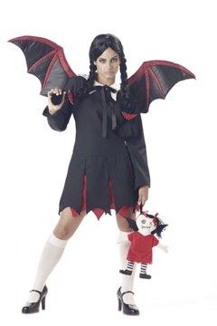 Vampire Very Bat Girl Teen Costume Size: Jr (3-5) #05034