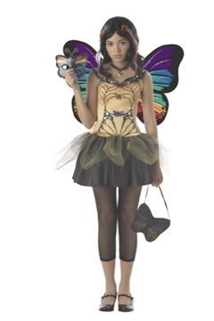 Butterfly Masquerade Punk Rock  Monster High Tween Child Costume Size: X-Large #04021
