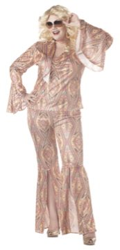 70's  Saturday Night Fever Discolicious Adult Plus Size Costume: 2X-Large #01650