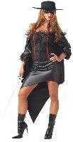 Zorro La Bandida Adult Costume Size: Medium #00823