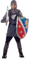 Valiant Knight Child Costume Size: Large