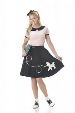 Grease 50's Hop Poodle Skirt Adult Costume Size: Small #00710