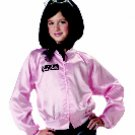 Grease Pink Ladies Jacket Child Costume Size:  Medium #00232