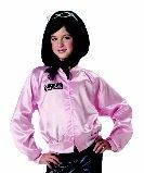 Grease Pink Ladies Jacket Child Costume Size:  Medium #00232