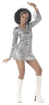 70's Disco Diva Adult Costume Size: Small #00956
