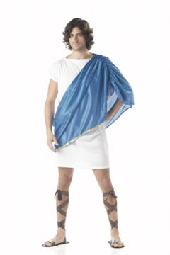 Toga Man Greek Fraternity Adult Costume #00949