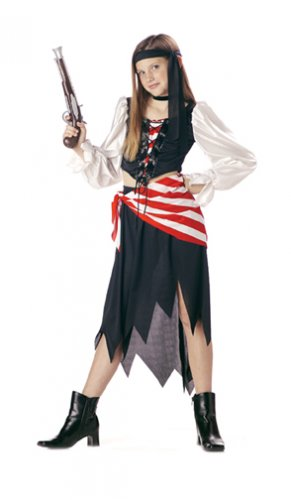 Ruby, The Pirate Beauty Child Costume Size: Medium #00203