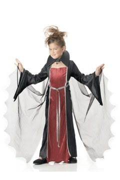 Vampire Girl Child Costume Size:  X-Large #00216