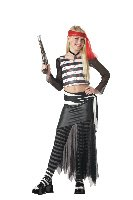 Pirate High Sea Hottie Child Costume Size: X-Large #00252