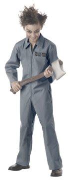Jailer Psychopath Child Costume Size: Large #00302
