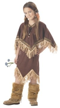 Thanksgiving Princess Wildflower Indian Child Costume Size: Large #00309