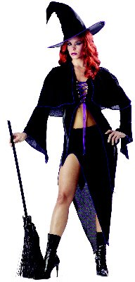 Spellbound Witch Gothic Adult Costume Size: Large #00739