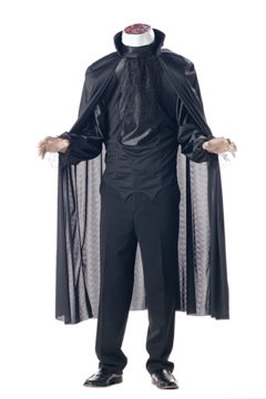 Headless Horseman Adult Costum Size: Large #00742