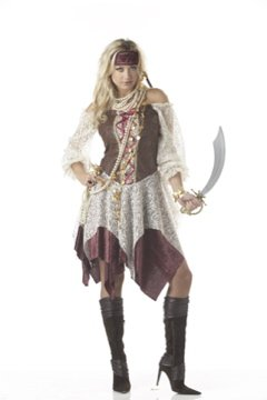 South Seas Siren Pirate Adult Costume Size: Large #00755