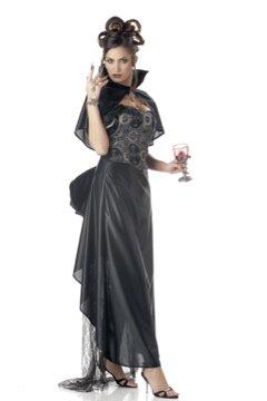 Victorian Vampira Vampire Dracula Adult  Costume Size: Small #00943