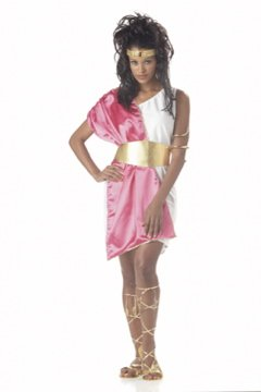 Toga Women Greek Goddess Adult Costume #00950