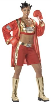 Sexy Contender Boxer Adult Costume Size: Large #00990