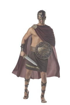Spartan Warrior Adult Costume Size: X-Large #01023