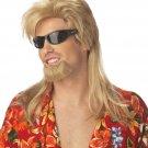 Beach Bro Bum Adult Costume Wig and Beard #70533