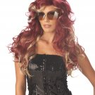 Sexy 70's Fashionista Punk Rock Star Adult Costume Wig #70551