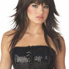 80's Rock Star Feathered And Flirty Adult Costume Wig #70353