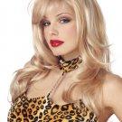 Blonde Exotic Dancer Street Walking Ho Adult Costume Wig #70148