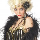 Jazz Baby 20's Fashion Flapper Adult Costume Wig #70255_Blonde
