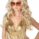 Sexy Super Model Curly Adult Costume Wig #70059