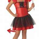 Devil Darling Child Costume Size:  Large #00235